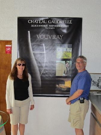 Chateau Gaudrelle, Vins de Vouvray: At the wine tasting room