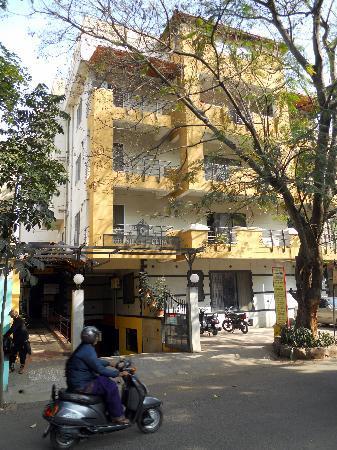 Krishna Cedar Service Apartment: Exterior view of Krishna Cedar