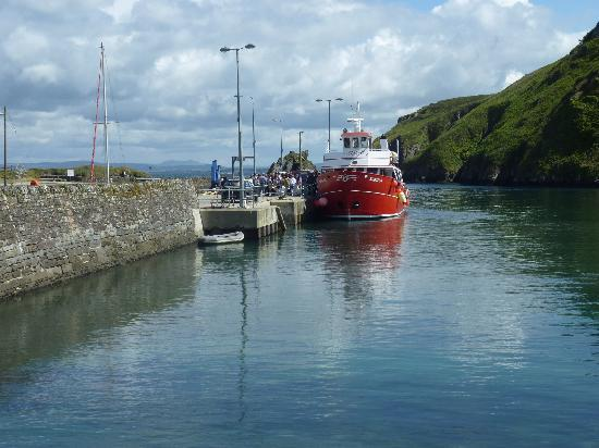 Cape Clear Island: The Harbour and the ferry