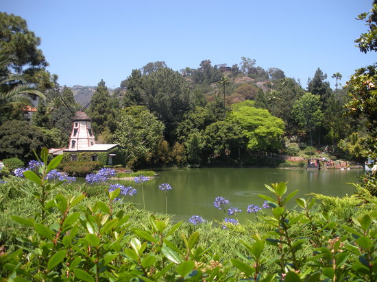 Photo of Park Lake Shrine Temple and Retreat at 17190 Sunset Blvd. Pacific Palisades, Pacific Palisades, CA CA 90, United States