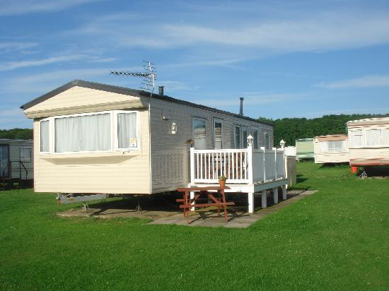 Cresswell, UK: our lovely caravan