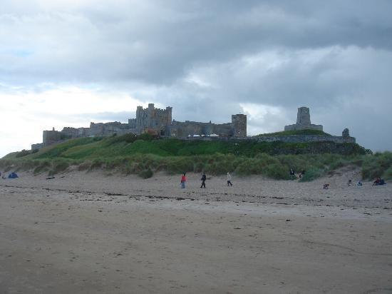 Cresswell, UK: Bamburgh Castle