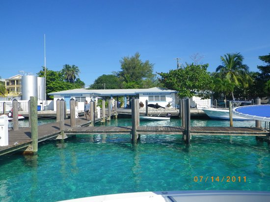 Bimini Blue Water Resort: This is what you see when you arrive