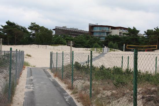 HAVET Hotel Resort & Spa: Weg zum Strand