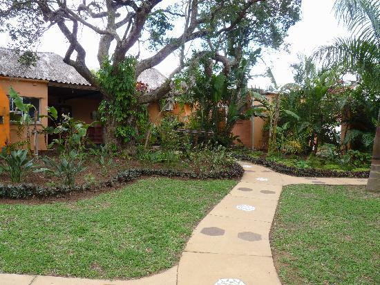 Lidiko Lodge: Garten