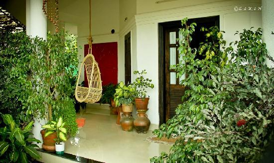 GreenLeaves Habitat: Enterance