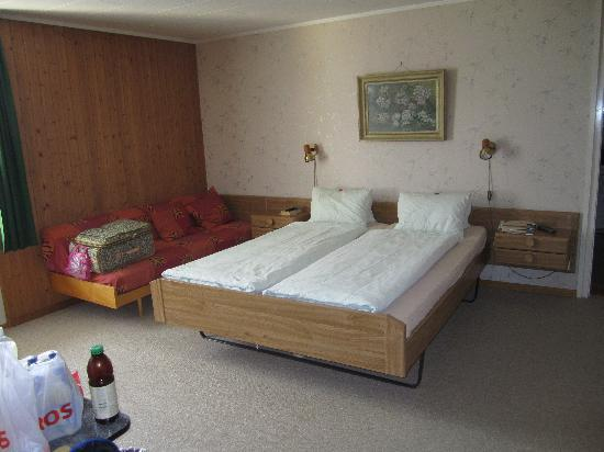 Bel Air Eden: our first room - had a locking armoire, safe, full bathroom and balcony