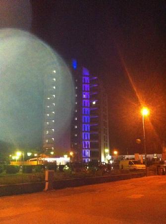 Adriatic Palace Hotel: Adriatic palace di notte