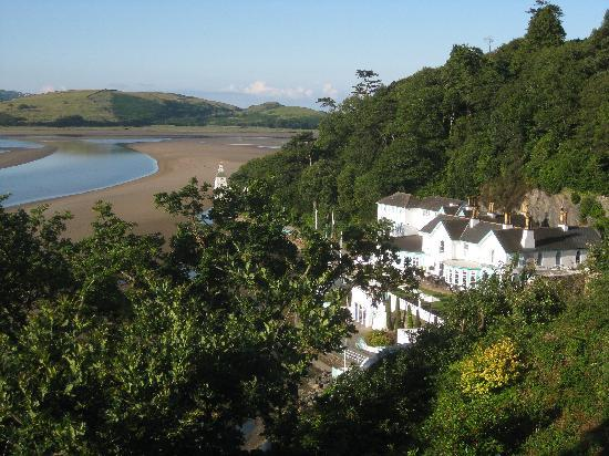 Hotel Portmeirion: What a view!