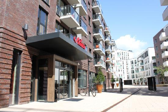 Rezeption bild von adina apartment hotel hamburg michel for Appart hotel hambourg
