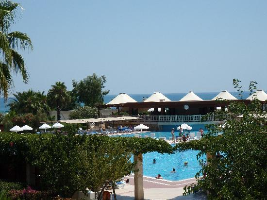 Kaya Belek Hotel: View from the Lobby Bar Balcony