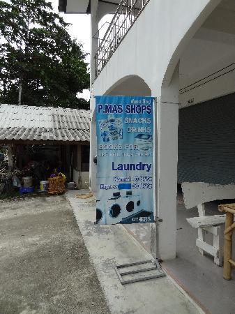 P Mas Shops: La pancarte