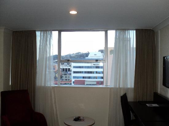 Mercure Wellington Abel Tasman Hotel: Big Windows to view the city
