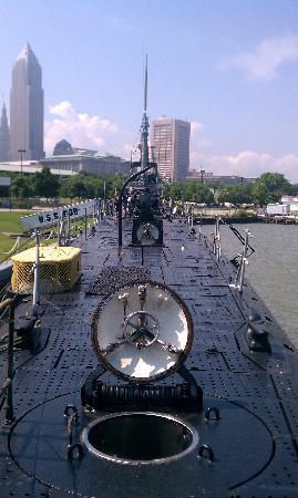 USS Cod Submarine Memorial: boat
