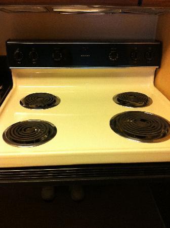 HYATT house Cypress/Anaheim: Hotpoint stove