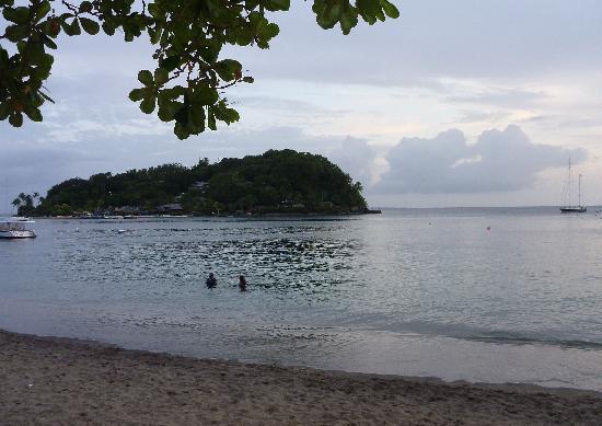 日落海岸海灘飯店照片