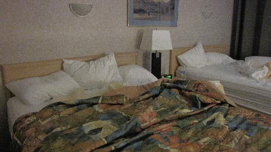 Days Inn Canmore: Bed