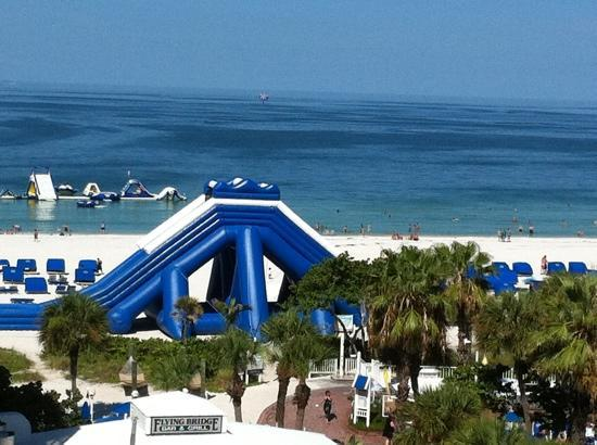 Slide On The Beach Picture Of Tradewinds Island Grand Resort St