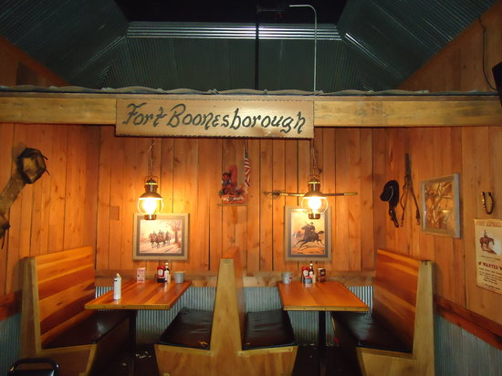Reno's Roadhouse: fort boonesborough