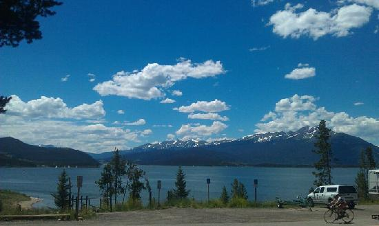 Best Western Ptarmigan Lodge: The view when you walk out the front door of the room!