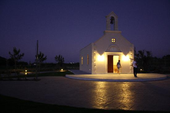 Kolymbari, Grécia: Chapel on the hotel area