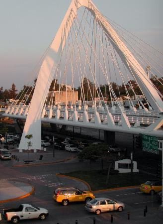 Hotel Riu Plaza Guadalajara : second floor landing