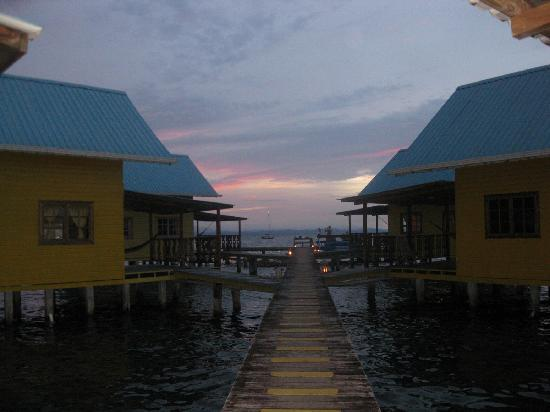 Koko Resort: The hotel during the sunset