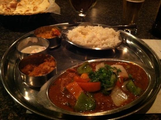 Sai Ram Indian Cuisine: Kaidoo chicken dinner
