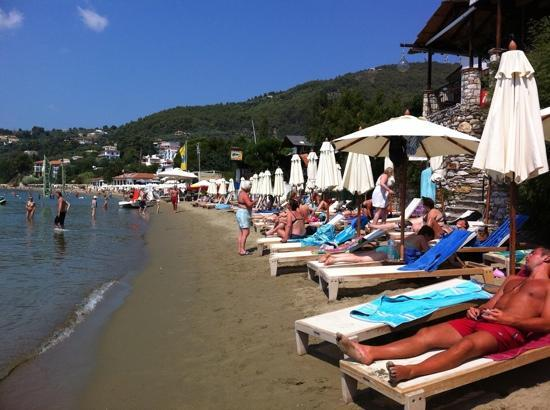 Hotel Megali Ammos House: stranden