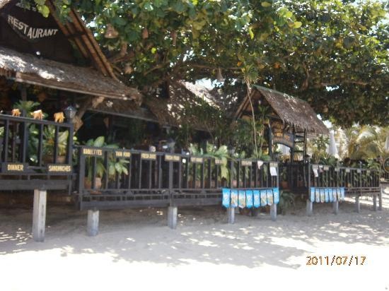New Hut Bungalows: New Hut Restaurant