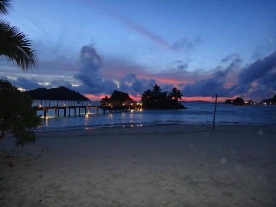 Likuliku Lagoon Resort: Sunset