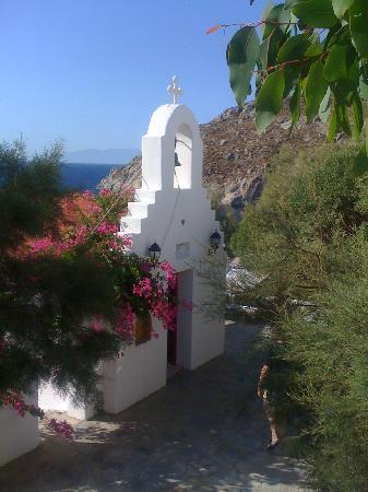 Kalafatis, Grecia: chiesetta nel villaggio
