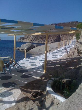 Kalafatis, Grecia: ristorante  a pagamento nel villaggio