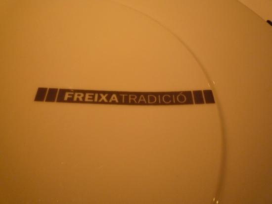 Freixa tradicio plate décoration murale originale