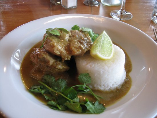 Wairau River Wines Restaurant : Chicken curry