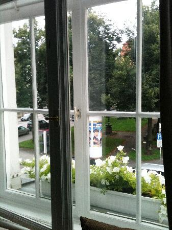 Das Nikolai Hotel: Blick auf den Platz