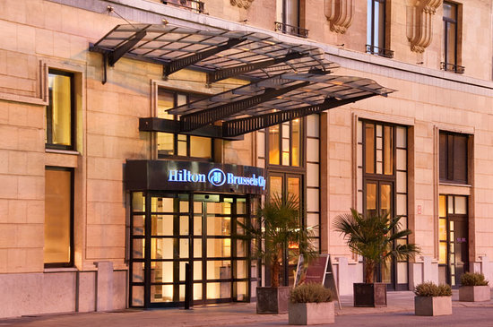 Hilton Brussels City: Hotel exterior