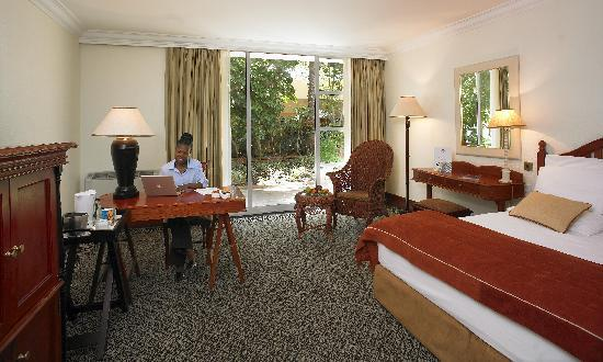 Gaborone Sun: Executive room bedrooms