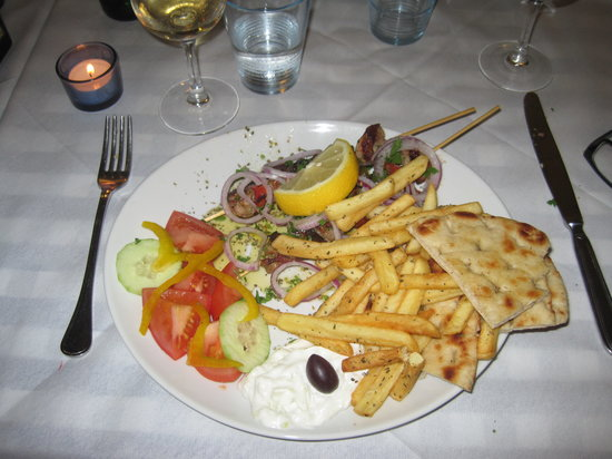 Ristorante Greco Ippokrates : Lamb Kebab