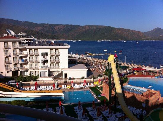 Romance Hotel Marmaris : view from balcony