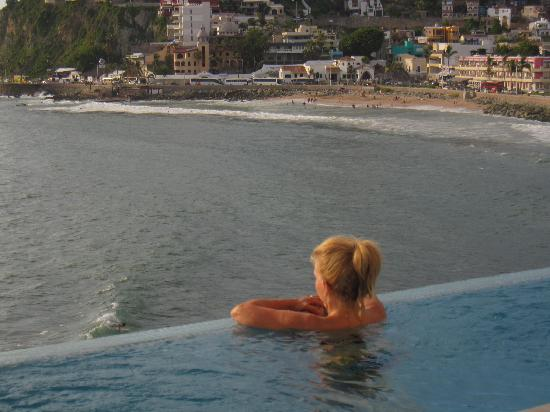 Casa Lucila Boutique Hotel: Enjoying the sunset from Lucila Hotel