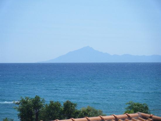 Blue View Hotel: Halkidiki from our balcony