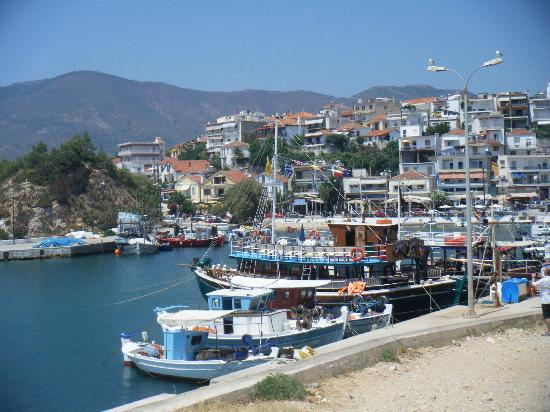 Blue View Hotel: Limenaria harbour