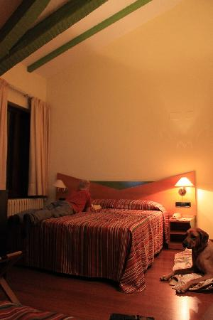 Hotel de l'Isard: Our room