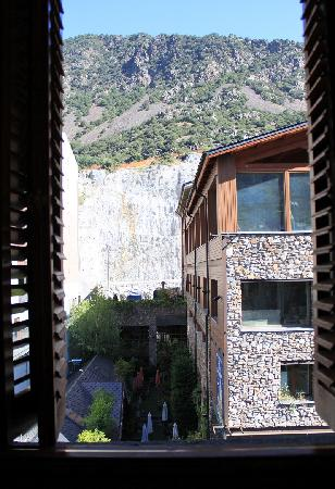Hotel de l'Isard : The view from the window