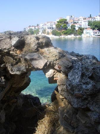 Marina Apartments: Skiathos harbour
