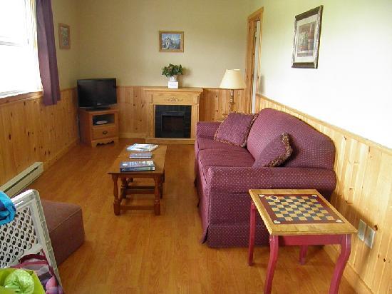 Upper Clements Cottages : Livingroom