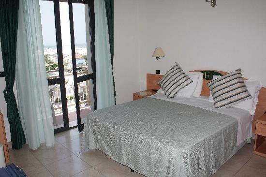 Hotel Bixio : La chambre