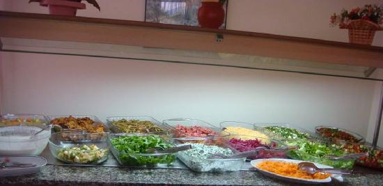 Ceren Hotel: salata