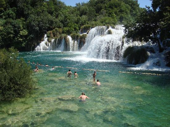 Bluesun Resort Afrodita : Krka Falls